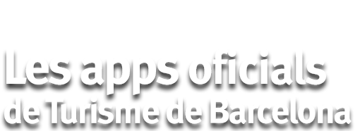The officialapps of Turisme de Barcelona